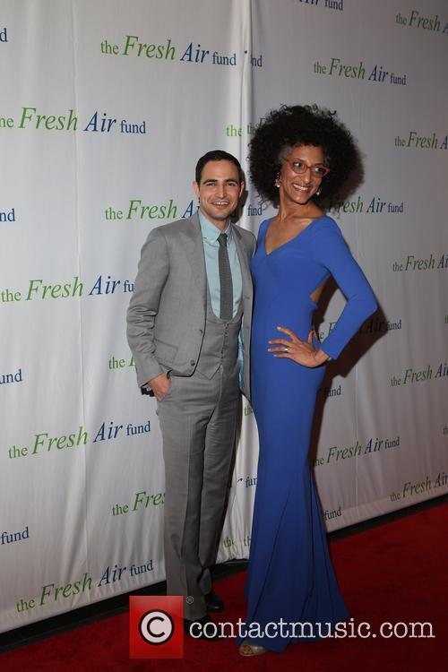 Zac Posen and Chef Carla Hall 4