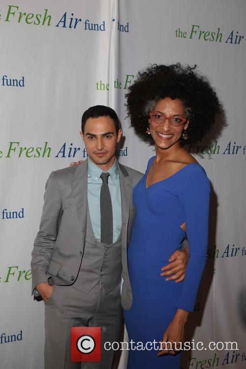 Zac Posen and Chef Carla Hall 5