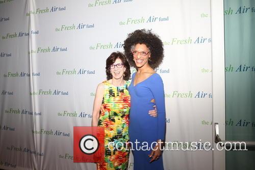 Jenny Morgenthau and Chef Carla Hall 2