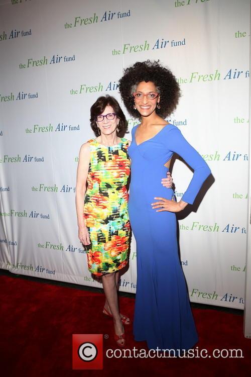 Jenny Morgenthau and Chef Carla Hall 3