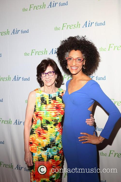 Jenny Morgenthau and Chef Carla Hall 1