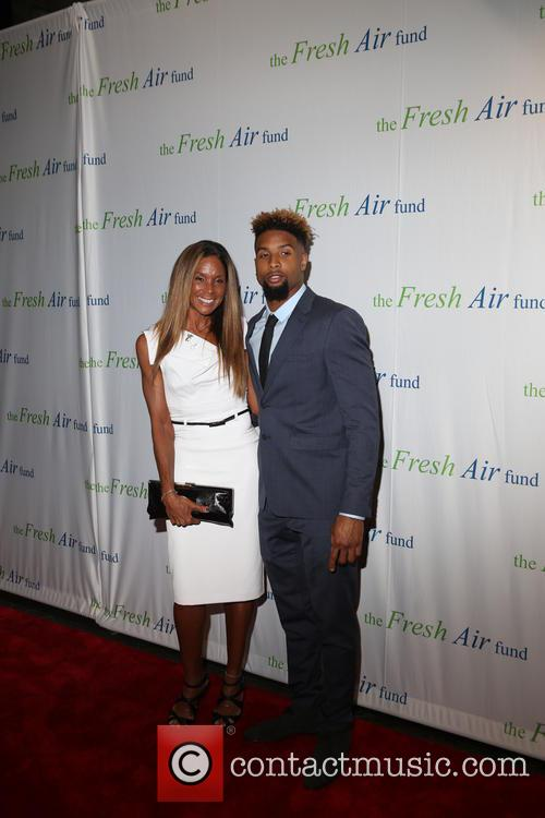 Heather Van Norman and Odell Beckham Jr. 1