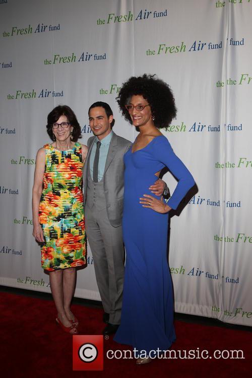 Jenny Morgenthau, Zac Posen and Chef Carla Hall 4