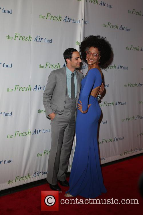 Zac Posen and Chef Carla Hall 1