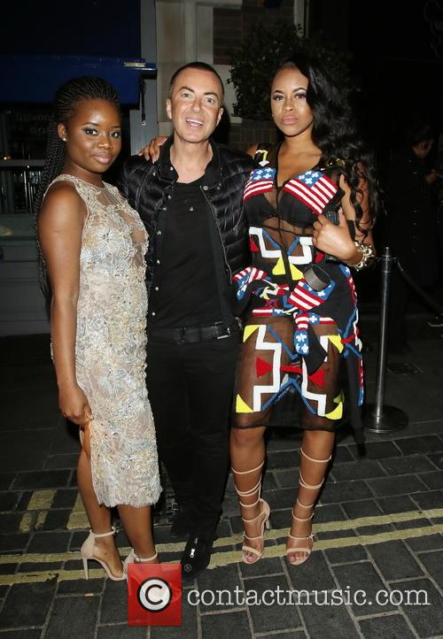 A*m*e and Amira (neon Jungle) Julien Macdonald 3