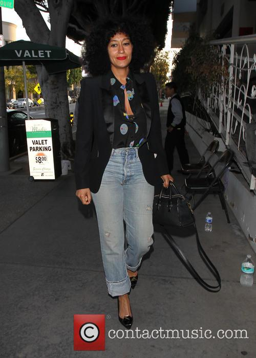 Tracee Ellis Ross at Madeo Restaurant