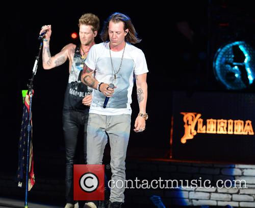 Brian Kelley, Tyler Hubbard and Florida Georgia Line 7