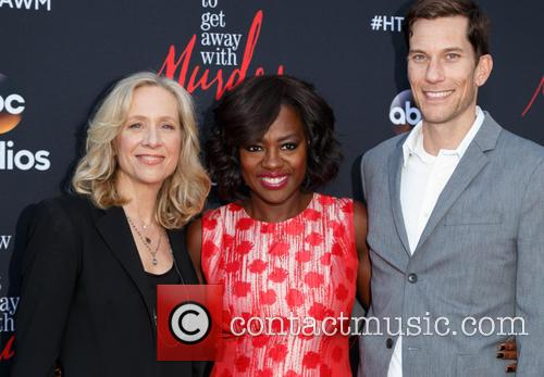 Betsy Beers, Viola Davis and Pete Nowalk 1