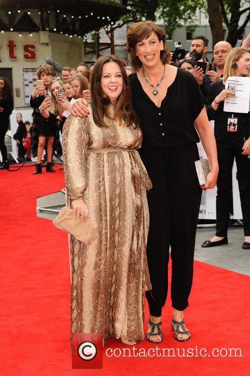 Melissa Mccarthy and Miranda Hart 10