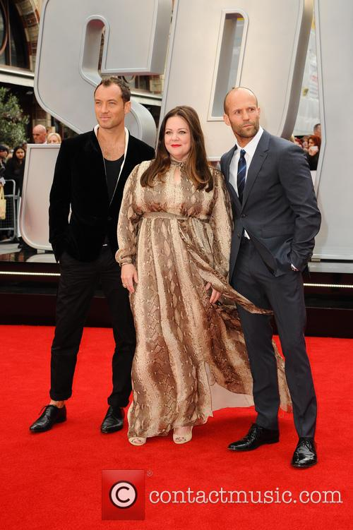 Jude Law, Melissa Mccarthy and Jason Statham 3