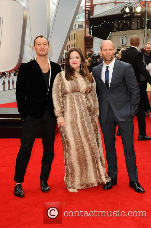 Jude Law, Melissa Mccarthy and Jason Statham 6