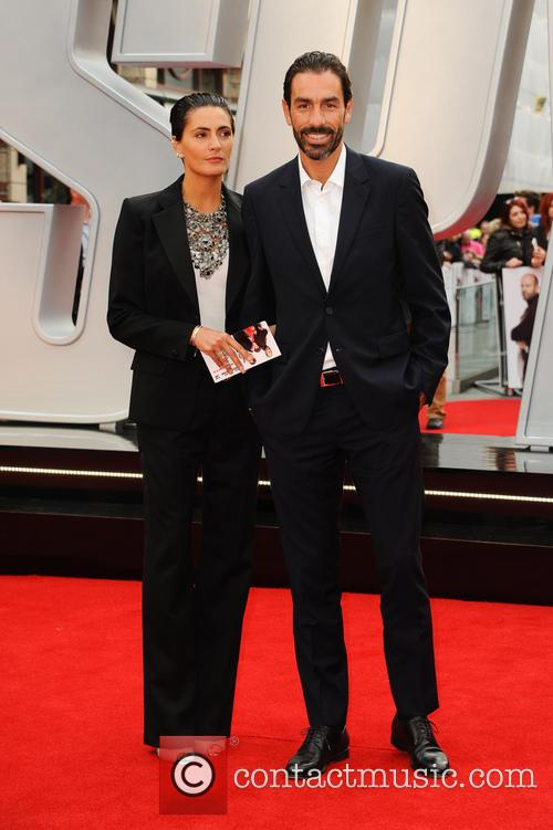 Robert Pires and Wife Jessica Lemarie 2