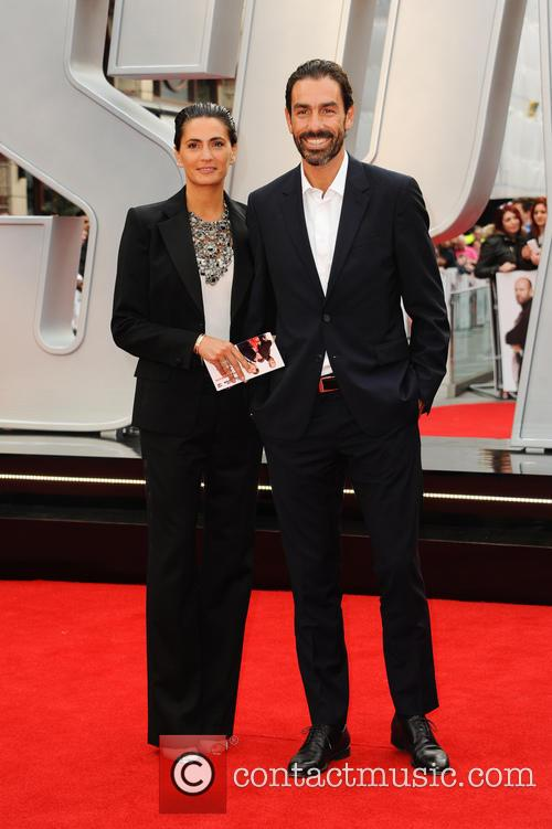Robert Pires and Wife Jessica Lemarie 1