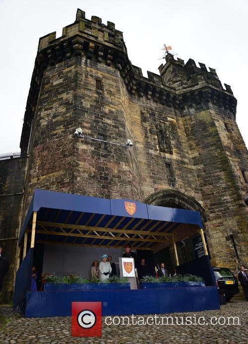 Queen Elizabeth II visits the city of Lancaster