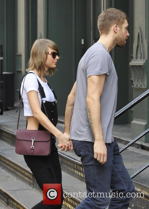 Taylor Swift and Calvin Harris 2