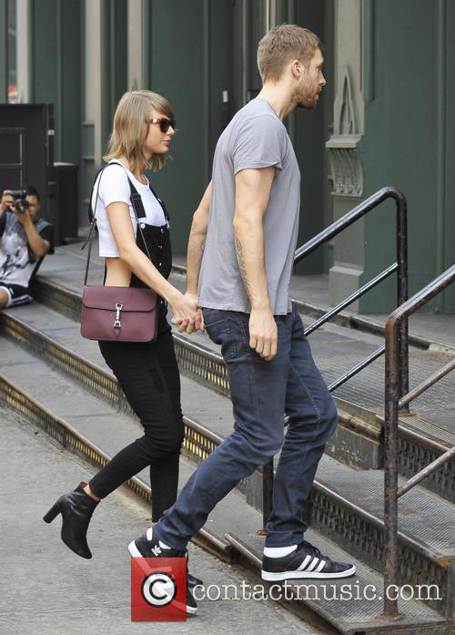 Taylor Swift and Calvin Harris 3