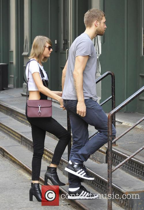 Taylor Swift and Calvin Harris 4