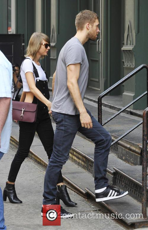 Taylor Swift and Calvin Harris 1