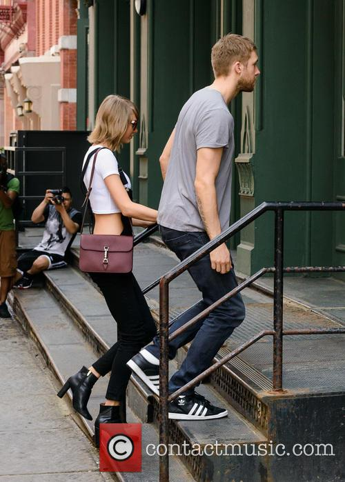 Taylor Swift and Calvin Harris 8