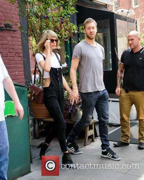 Taylor Swift and Calvin Harris 9