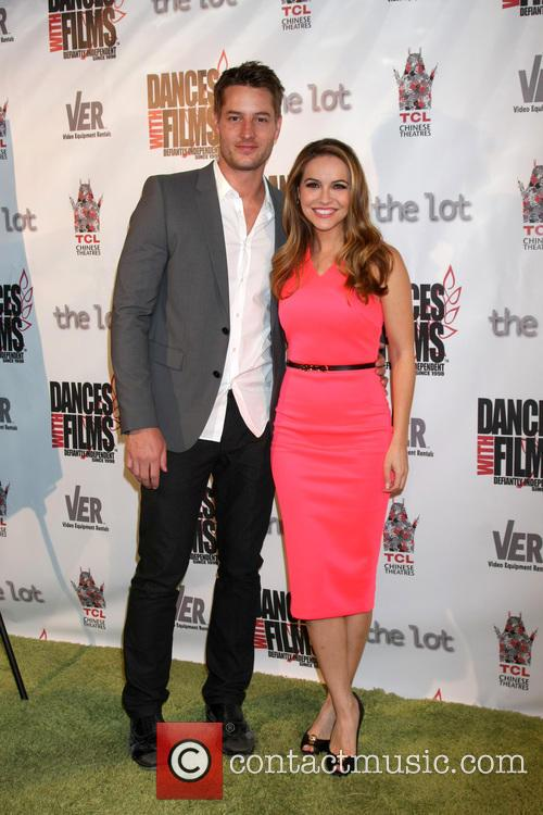 Justin Hartley and Chrishell Stause 5
