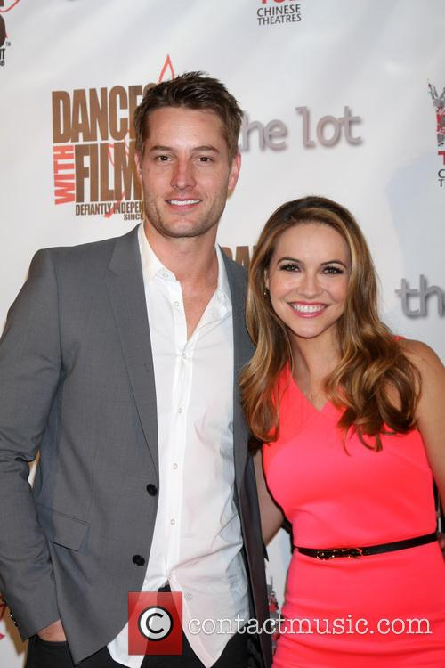 Justin Hartley and Chrishell Stause 1