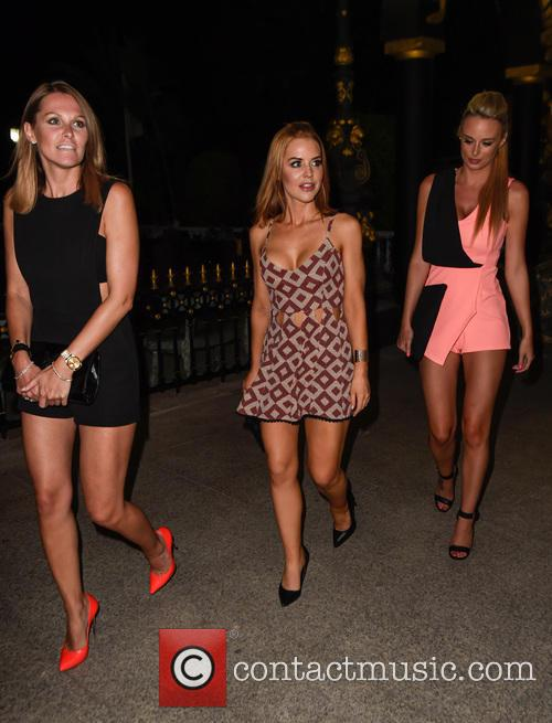 Stephanie Waring, Rhian Sugden and Jude Cisse 8