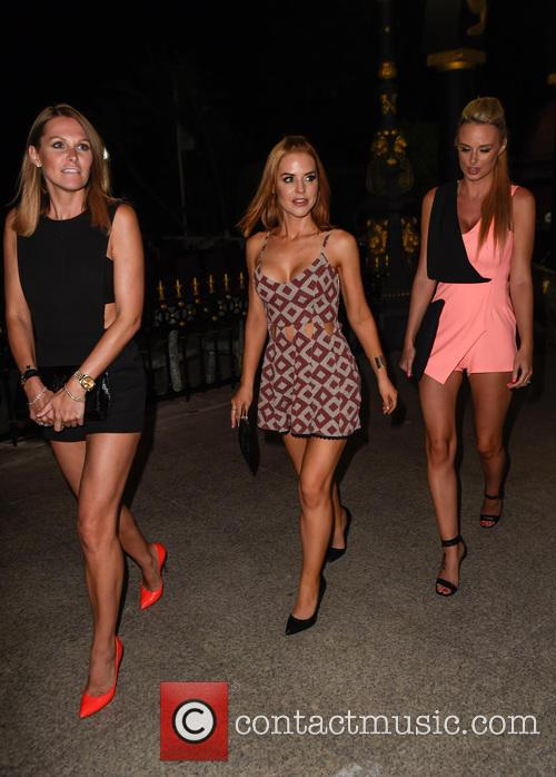 Stephanie Waring, Rhian Sugden and Jude Cisse 9