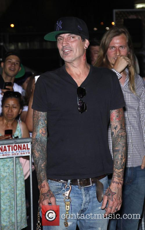 Tommy Lee at Gumball 3000 Las Vegas Festival