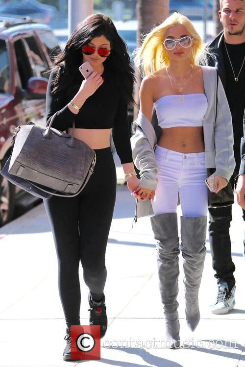 Kylie Jenner and Pia Mia Perez 9