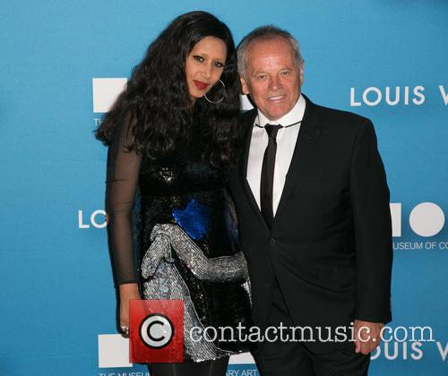 Gelila Assefa and Wolfgang Puck 3