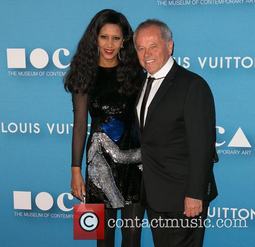 Gelila Assefa and Wolfgang Puck 1