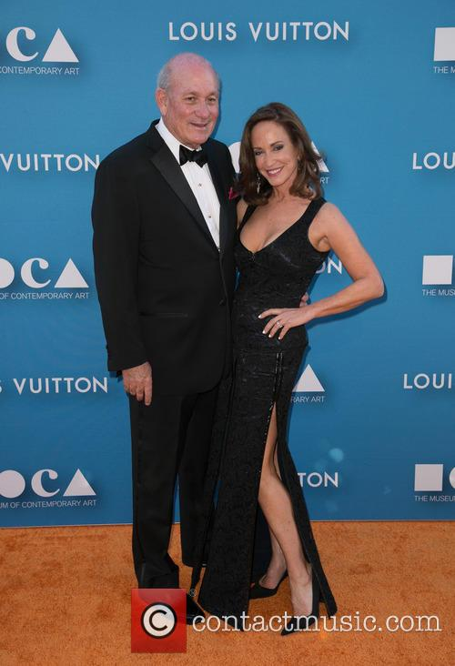 Lilly Tartikoff, Bruce Karatz and Louis Vuitton