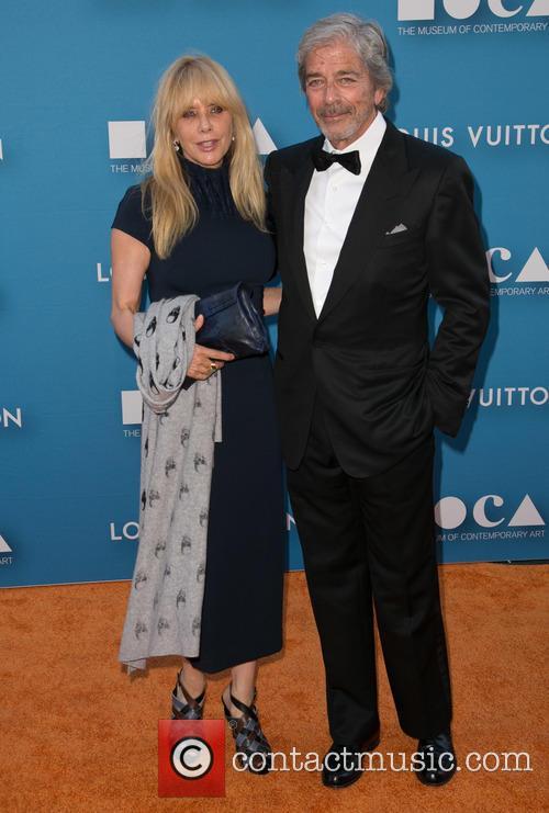 Rosanna Arquette and Todd Morgan 1