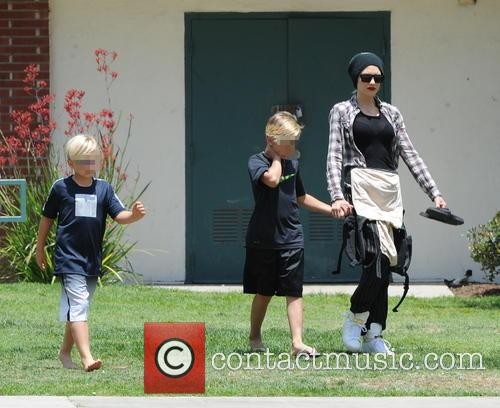 Gwen Stefani, Kingston Rossdale and Zuma Rossdale 1