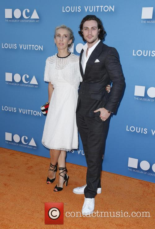 Aaron Taylor-johnson and Sam Taylor-johnson 3