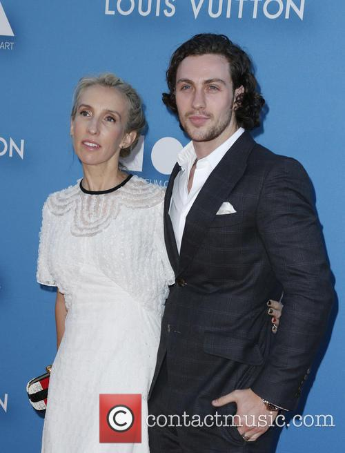 Aaron Taylor-johnson and Sam Taylor-johnson 1
