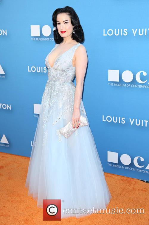 Louis Vuitton and Dita Van Teese 6
