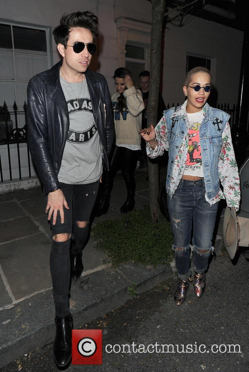 Nick Grimshaw and Rita Ora 2