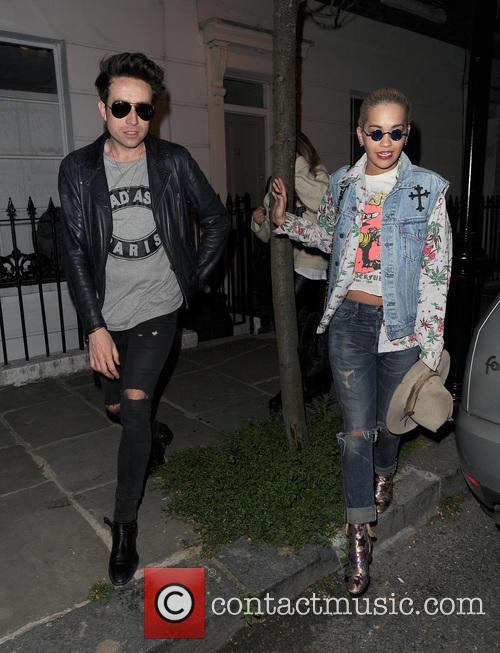Nick Grimshaw and Rita Ora 3