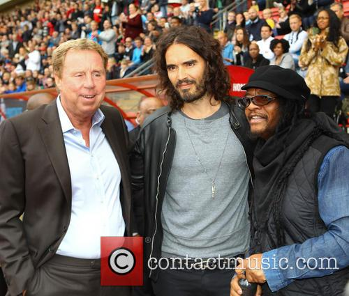 Harry Redknapp, Russell Brand and Maxi Priest 2