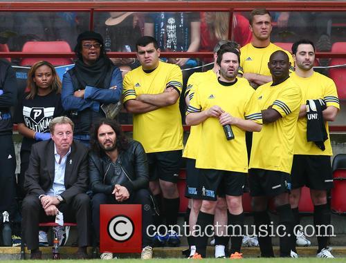 Harry Redknapp, Russell Brand, Maxi Priest, George Gilbey, Daniel Lassmann and Dan Osbourne