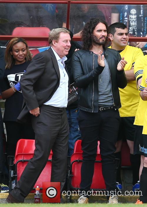 Russell Brand and Harry Redknapp 11