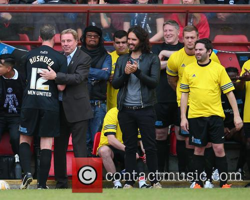Harry Redknapp, Russell Brand, Maxi Priest, George Gilbey and Dan Osbourne 5