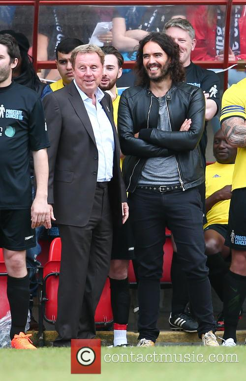 Harry Redknapp and Russell Brand 6