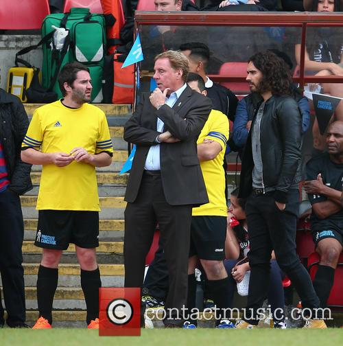 George Gilbey, Harry Redknapp and Russell Brand 5