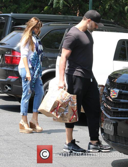 Sofia Vergara and Joe Manganiello shopping at Bristol...