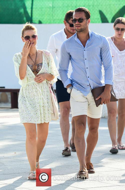 Stephanie Waring and James Hill 1