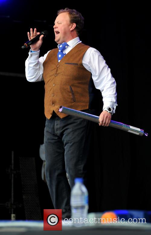 Wychwood Festival and Justin Fletcher