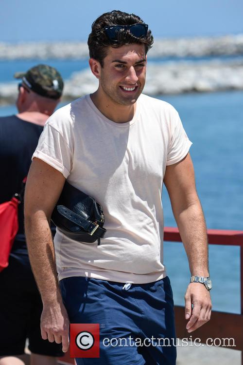 James Argent and Tommy Mallet in Marbella
